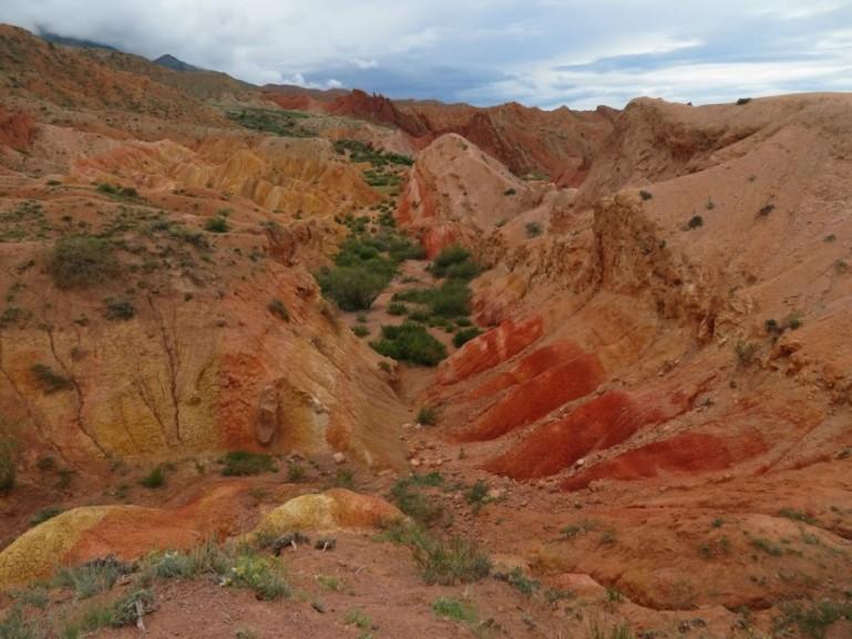 The Skazka Canyon in Kyrgyzstan