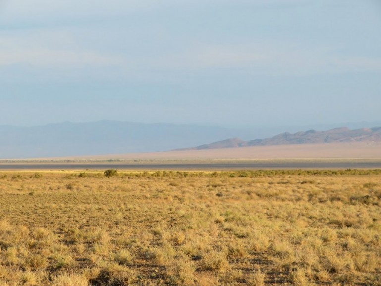 Steppes in Altyn Emel National park