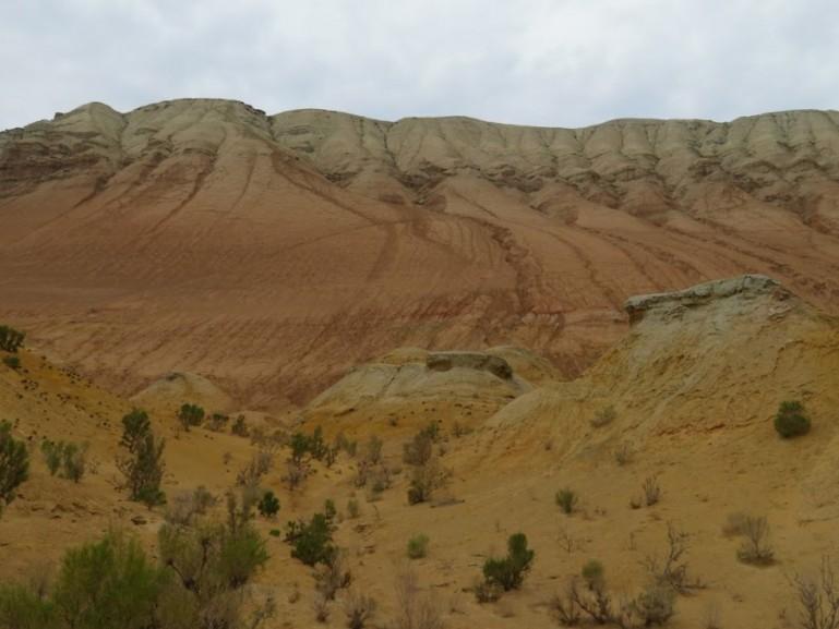 Aktau mountains in Altyn Emel National park