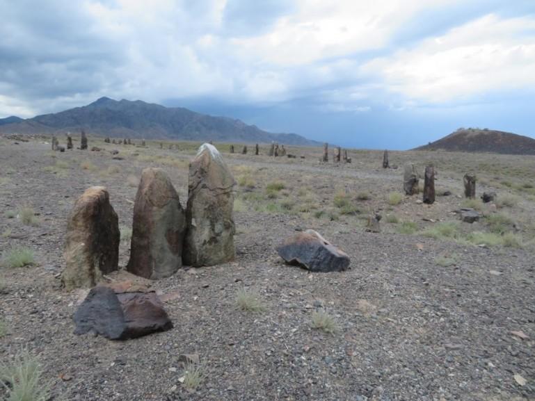 Bes Shatyr Saki dolmens in Altyn Emel National park