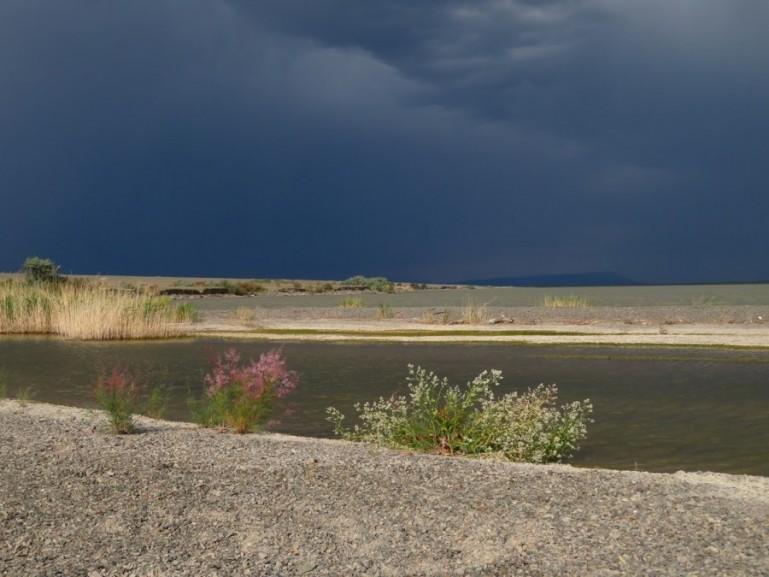 Lake Kapchagay in Altyn Emel National park