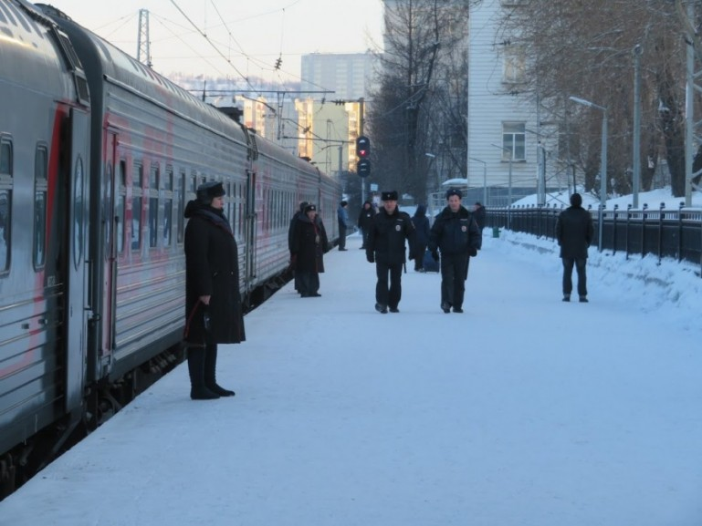 Arktika express: the St Petersburg to Murmansk train