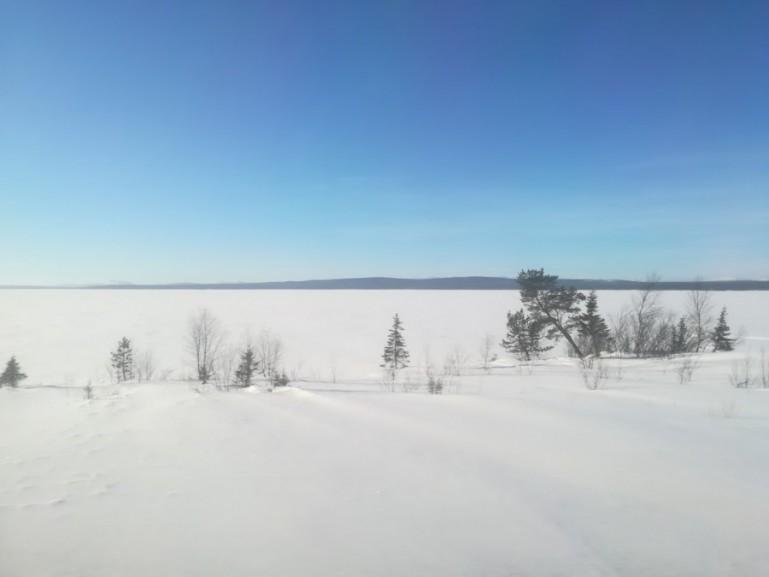 Views on the Arktika train