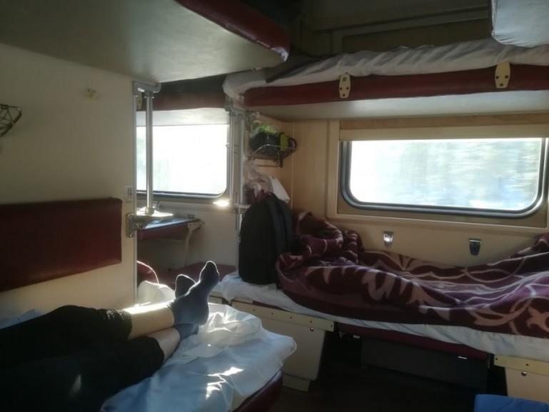 Platzkart on the Arktika train