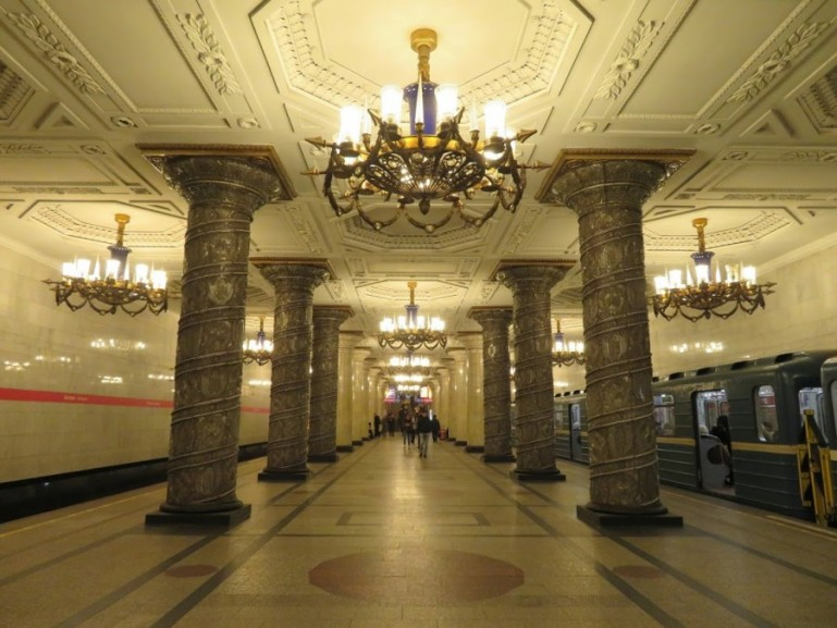 Avtovo station on the St Petersburg metro
