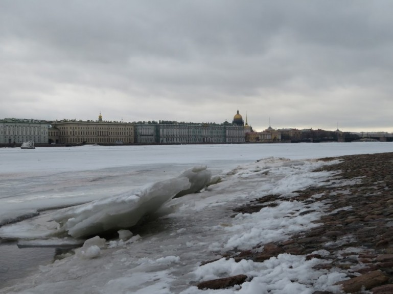 View on winter palace