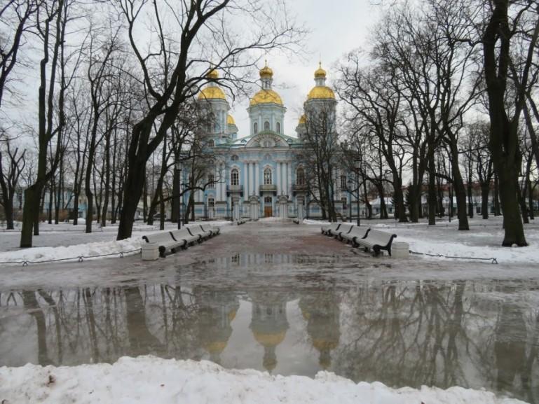 Nikolski cathedral St Petersburg
