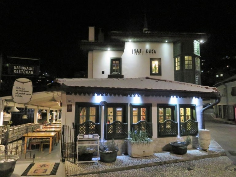 Inat Kuca is one of the best restaurants in Sarajevo