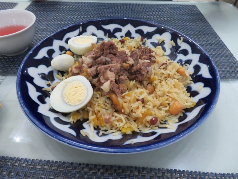 Tajikistan claims plov to be one of their national tajik foods and part of their cultural heritage