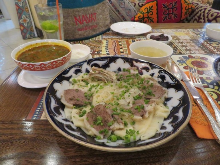 Beshbarmak is one of the best dishes in Kyrgyz food