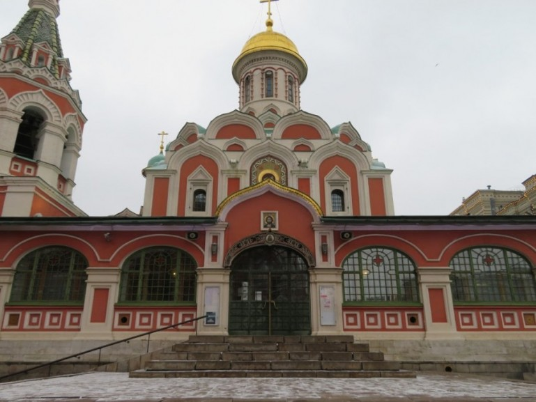 Kazan Cathedral at the Red Square in Moscow