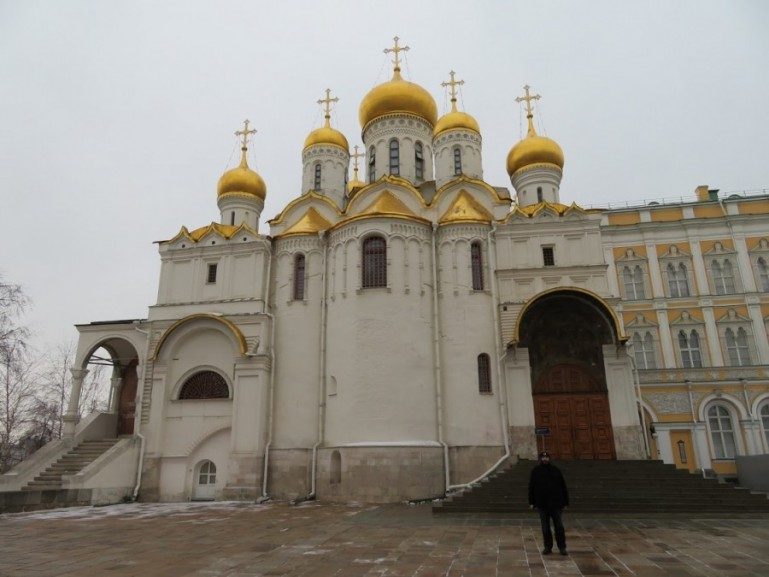 Annunciation cathedral Kremlin Moscow