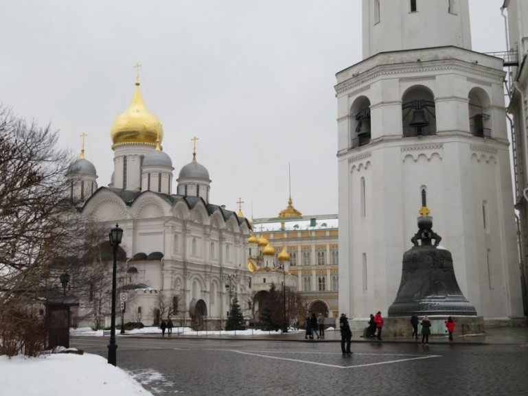 Archangel cathedral Kremlin Moscow