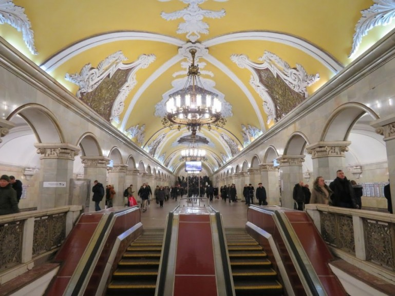 A self guided Moscow Metro tour