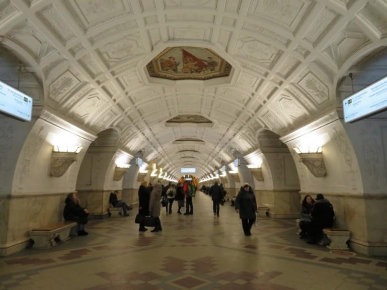 Beloruskaya metro station