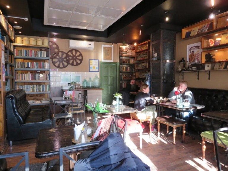 Varenichnaya 9 in Sergiev Posad is an excellent place to eat on a day trip from Moscow to Sergiev Posad