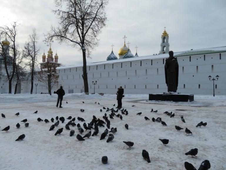 Sergiev Posad in winter