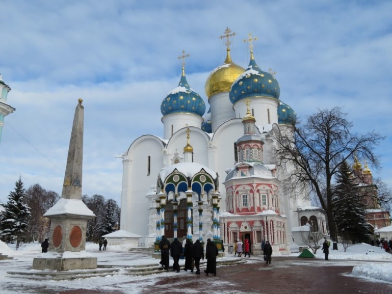 Sergiev Posad is one the most important Golden Ring cities in Russia
