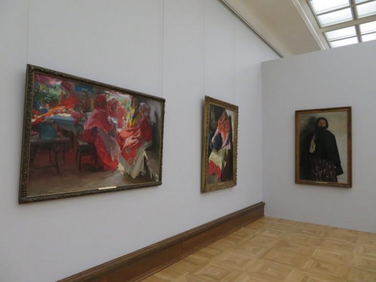 Russian art in the Tretyakov gallery