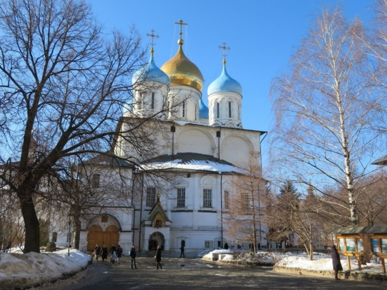 Novospassky monastery in Moscow