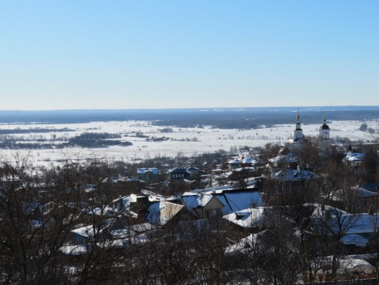 Views in Vladimir Russia