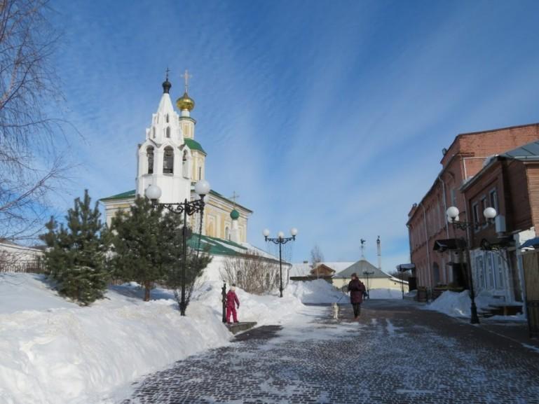 Hiastoric center in Vladimir Russia