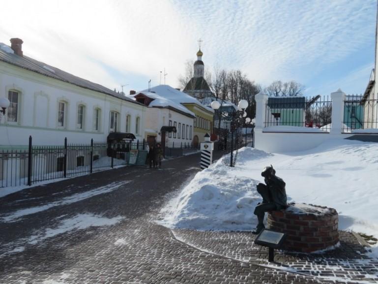 Historic center in Vladimir Russia