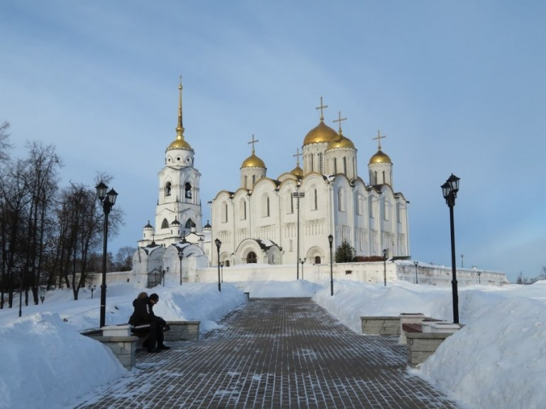 Assumption cathedral in Vladimir Russia