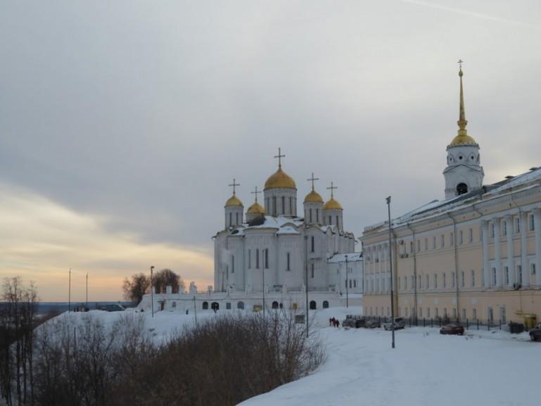 Kremlin in Vladimir Russia