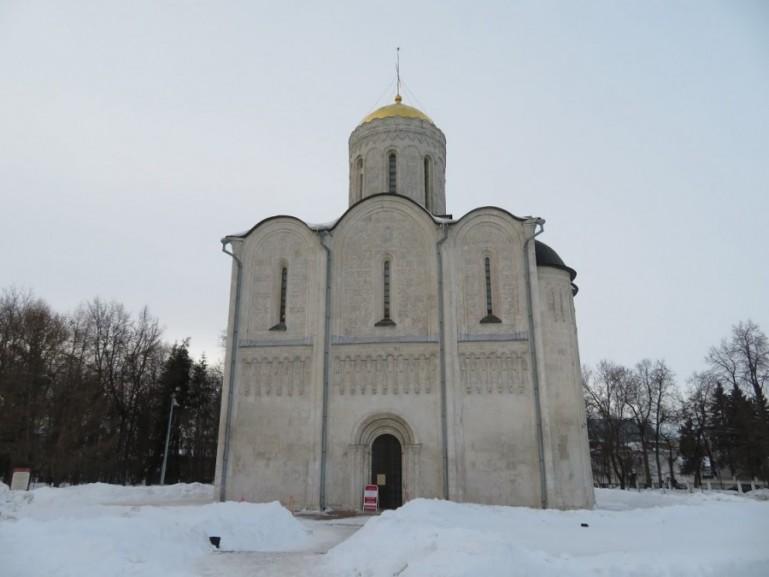 Demetrius cathedral in Vladimir Russia