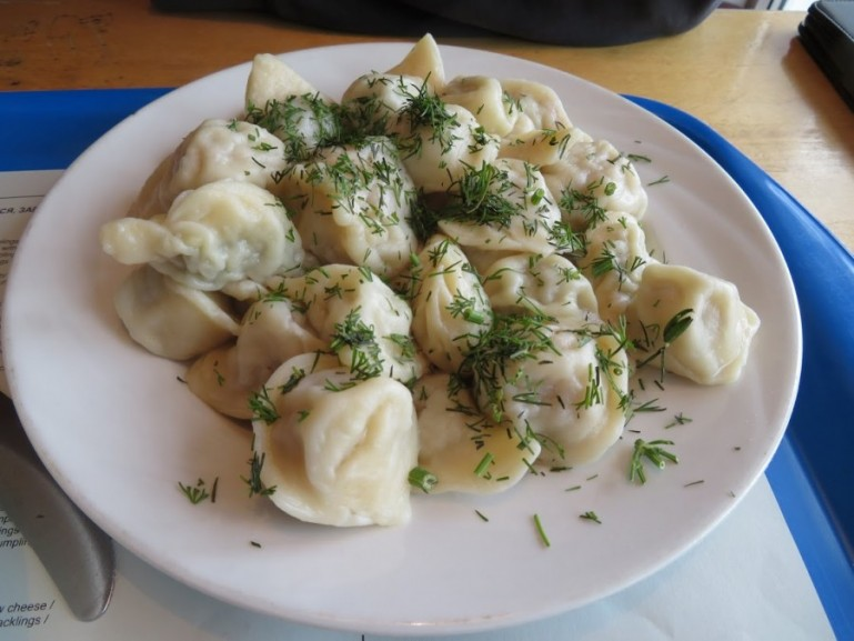 Traditional Siberian Pelmeni