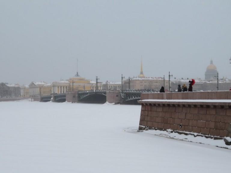 Vasiliyevski island St Petersburg