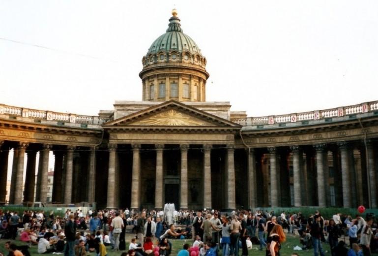 Kazan cathedral at the Nevsky prospekt