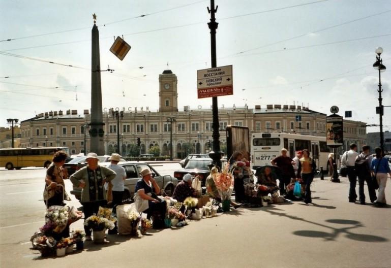 Ploschchad vosstaniya in St Petersburg