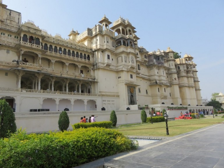 City palace is one of the best places to visit in Udaipur