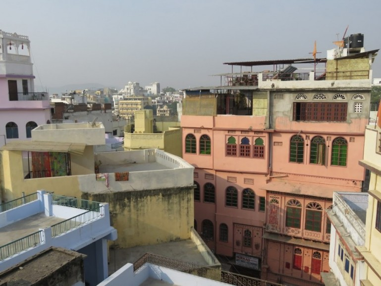 Residential area in Udaipur