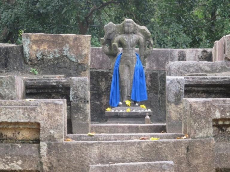 Pollonaruwa on the cultural triangle of Sri Lanka
