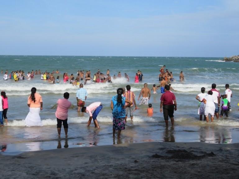 Kirinda beach on the Southern Coast of Sri Lanka