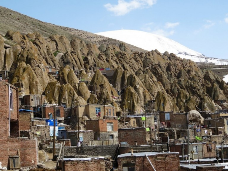 Cave homes in Kandovan