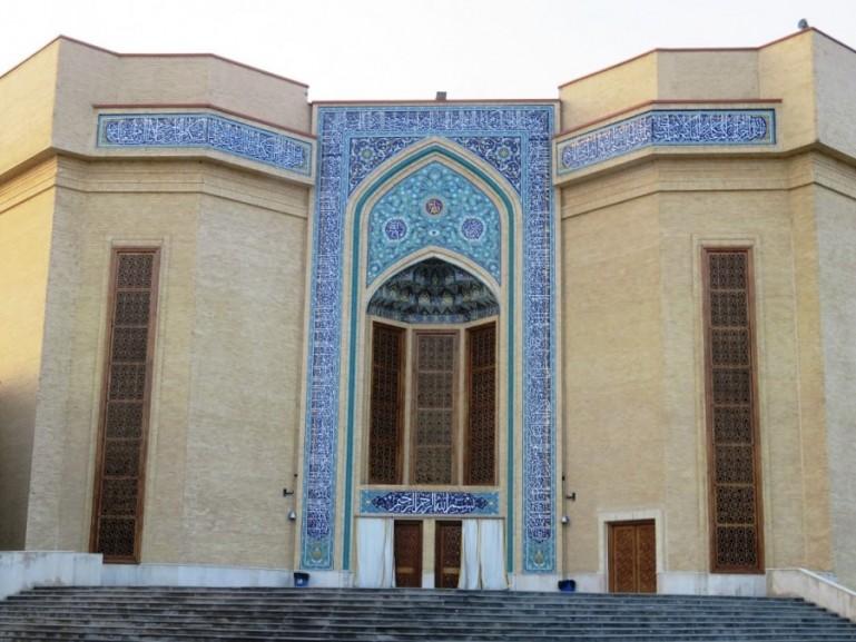new mosque in Tabriz