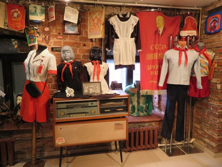 Museum of Soviet lifestyle in Kazan