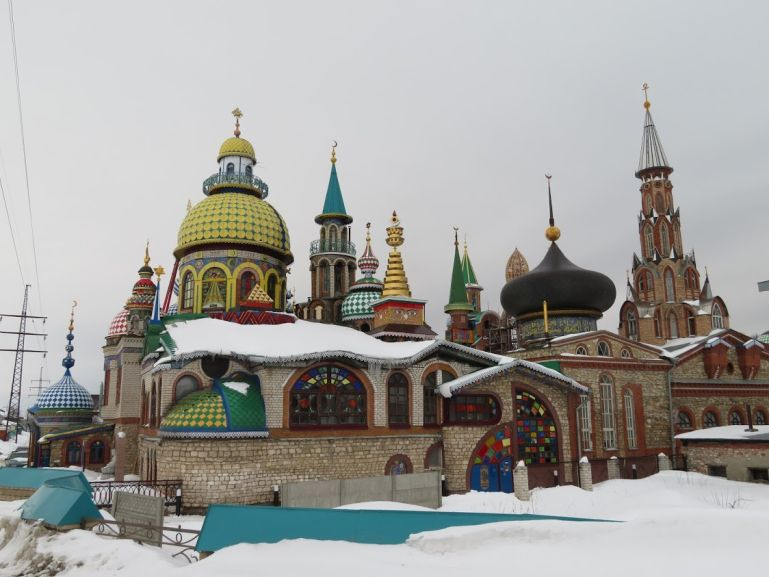 Temple of all religions in Kazan Russia