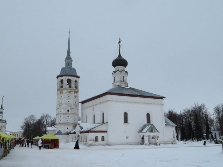 church in Suzdal Russia