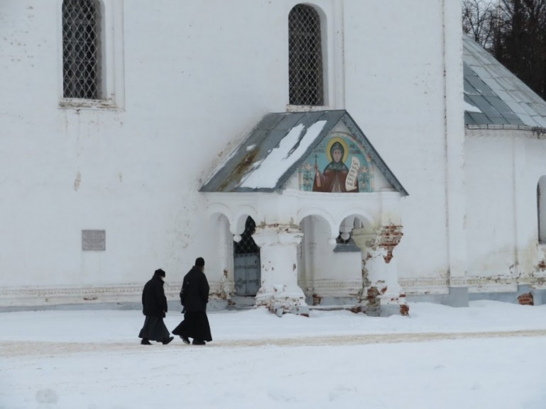 Monks in Suzdal Russia