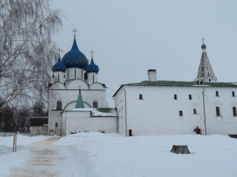 Suzdal Kremlin cathedral of the nativity