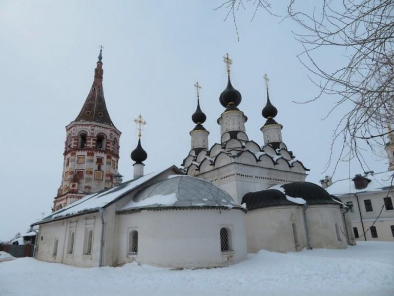 Alexander male monastery in Suzdal Russia