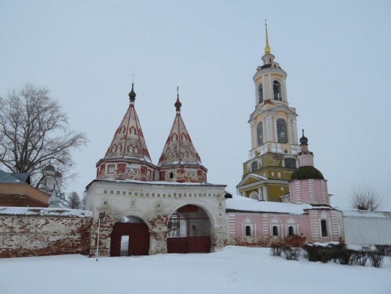 Deposition of the robe monastery in Suzdal Russia