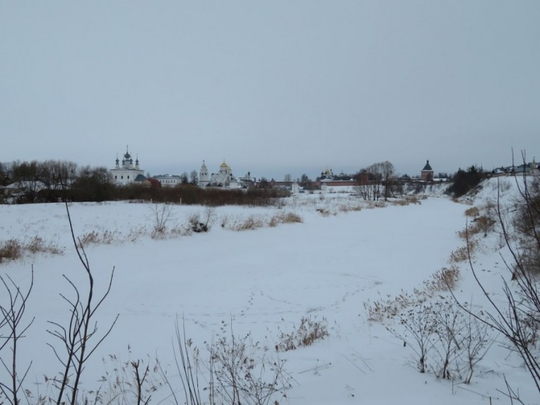 Monastery of Saint Euthymius in Suzdal Russia