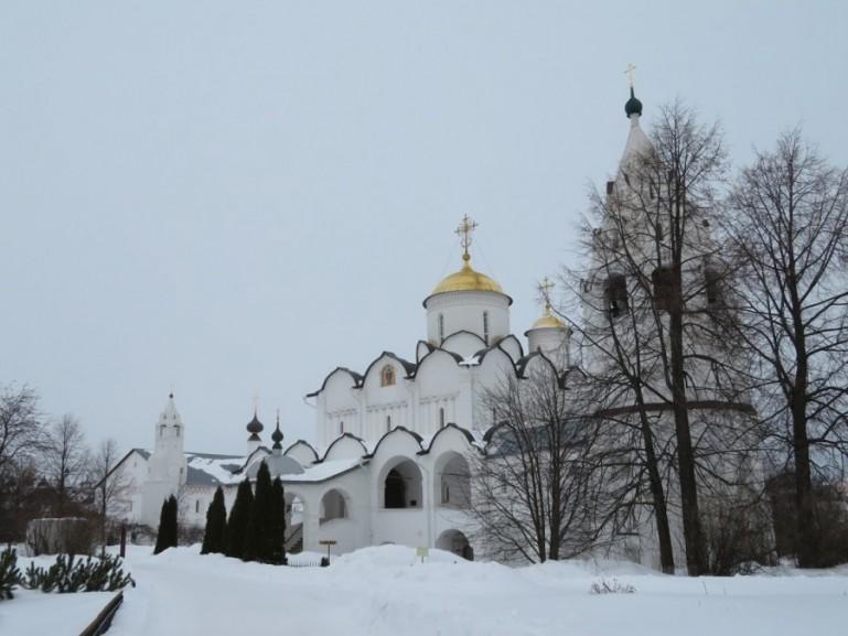 Pokrovski monastery in Suzdal Russia