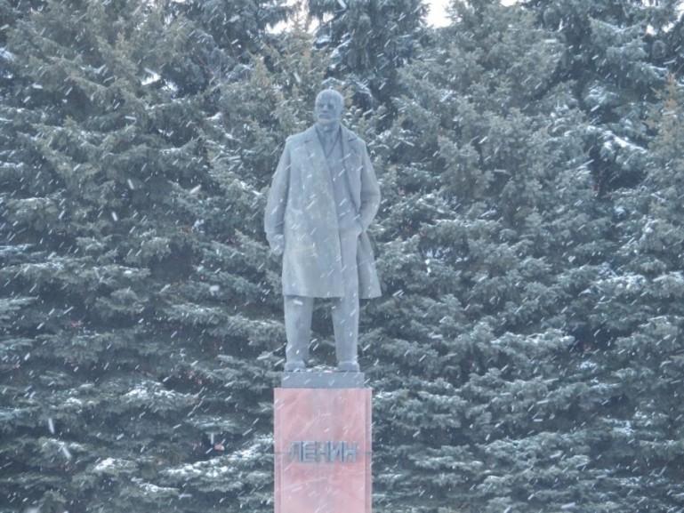 Lenin in Suzdal Russia